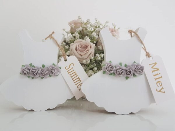 Flowergirl dress keepsake